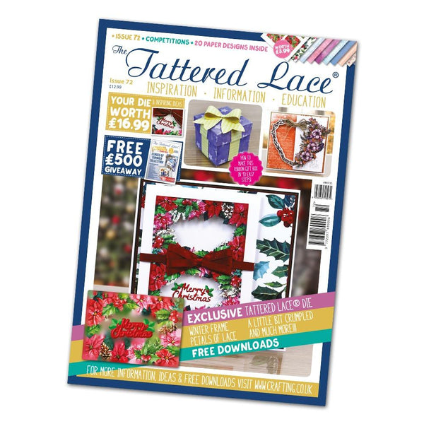 Tattered Lace Magazine Issue #72 with FREE Die