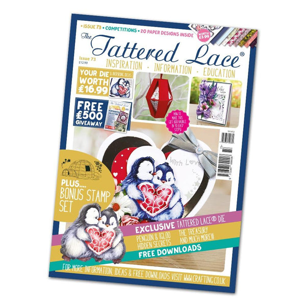 Tattered Lace Magazine Issue #73 with FREE Die