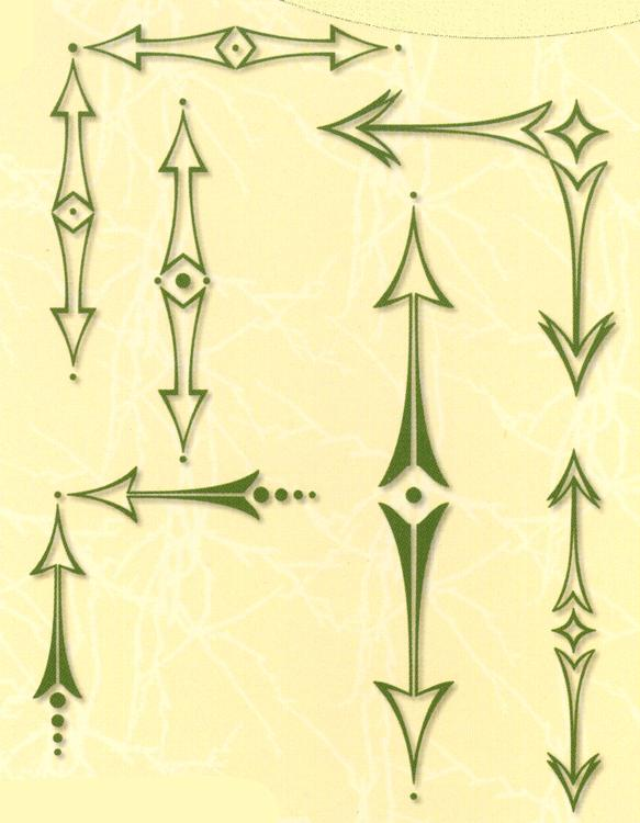 Project Life & Cards LeCreaDesign clear stamp Arrows sharp