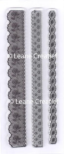 Clear stamp Lace