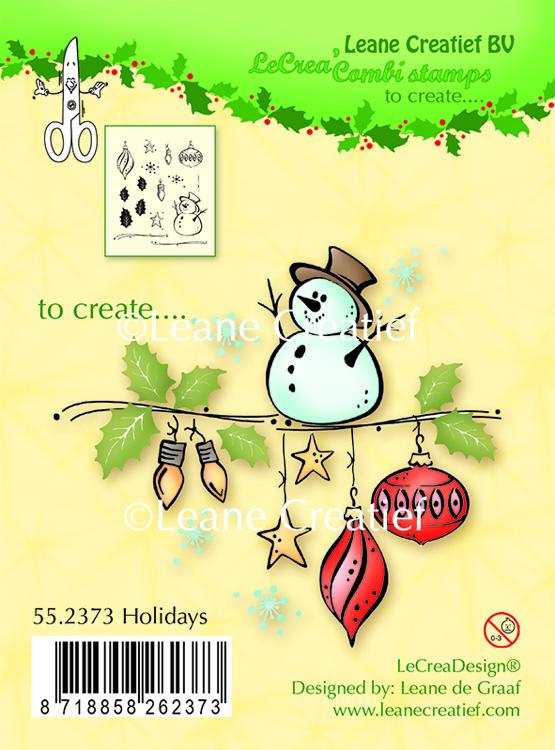 LeCreaDesign Clear Stamp Holidays