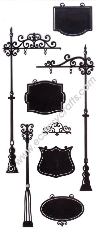 Leane Creatief BV-Combi Clear Stamp Signboards