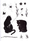 LeCreaDesign Clear Stamp Cats
