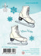LeCreaDesign Clear Stamp - Figure Skates