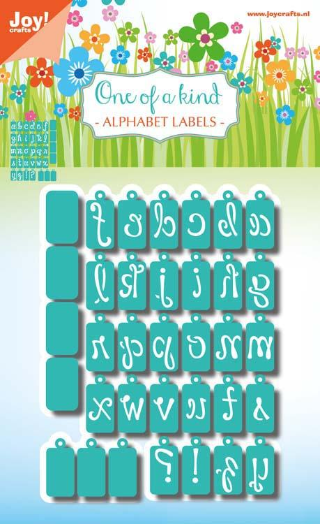Joy! Craft Die - Alphabet Labels