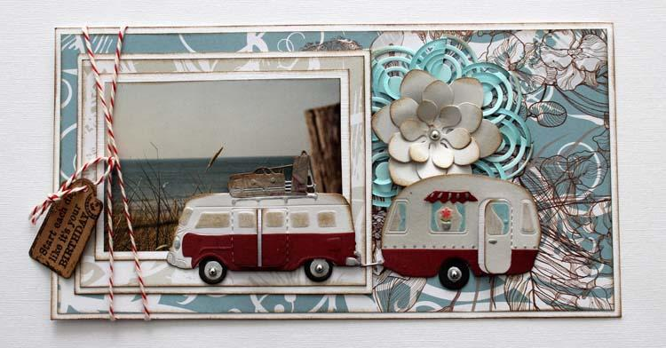 Joy! Crafts Die - Caravan