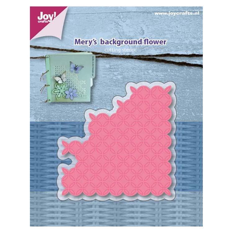 Joy! Crafts Die - Mery's background - flower