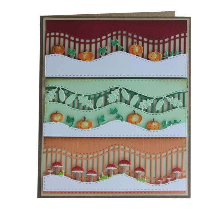 Joy! Crafts Die - Mery's Autumn waveborders