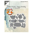 Joy! Crafts Die - Collect Friends Dog & Cat Happy Birthday