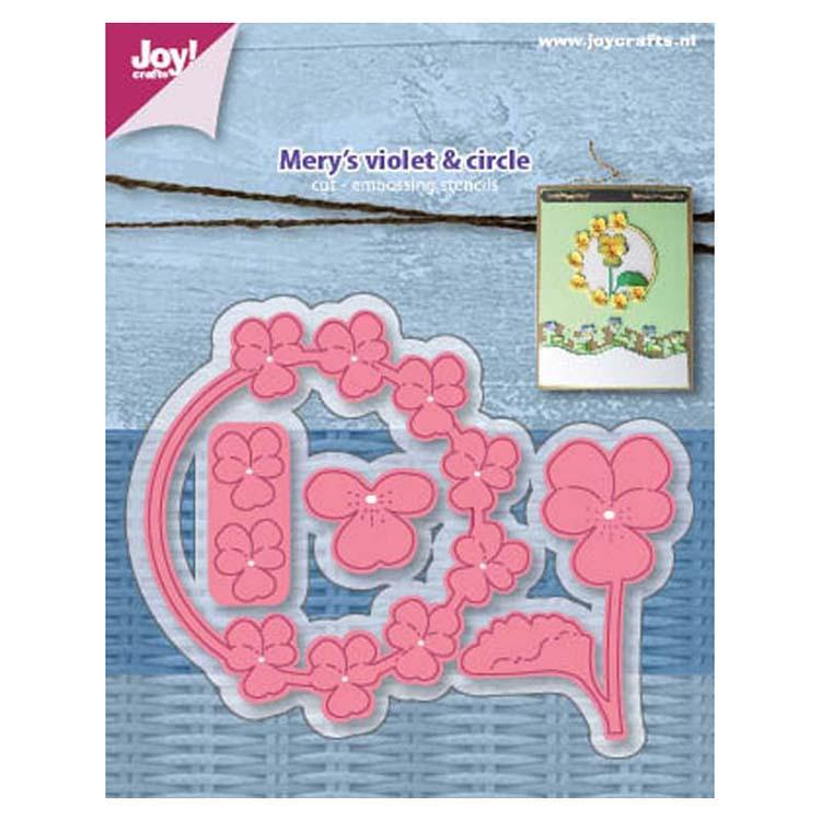 Joy! Crafts Die - Mery's Violet Circle