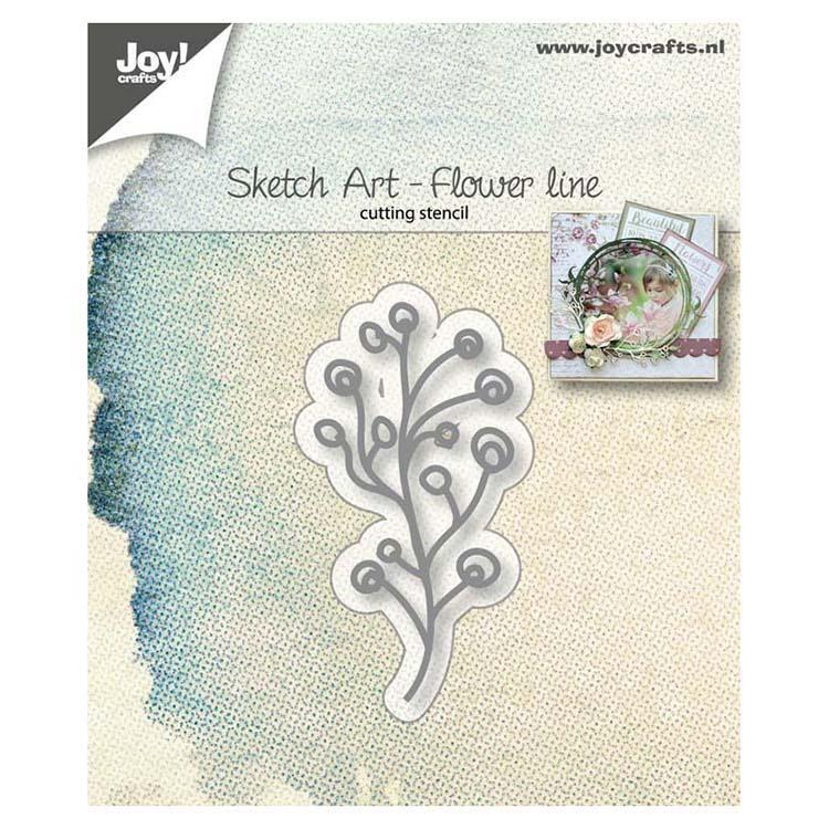Joy! Crafts Die - Flower Line
