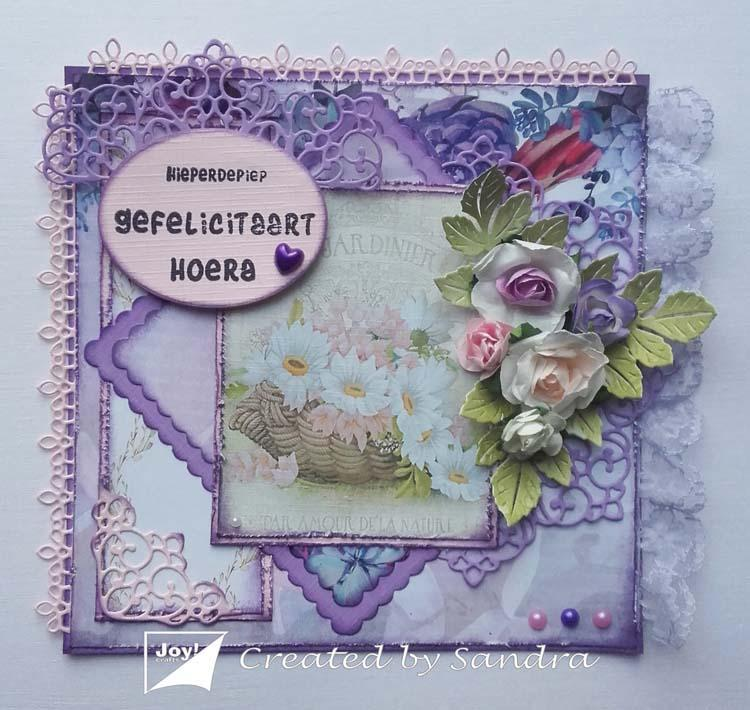 Joy! Crafts Die - June Vintage Borders