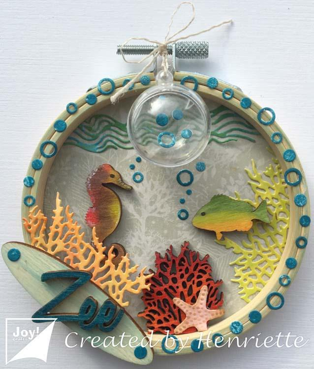 Joy! Crafts Die - Bille's Coral