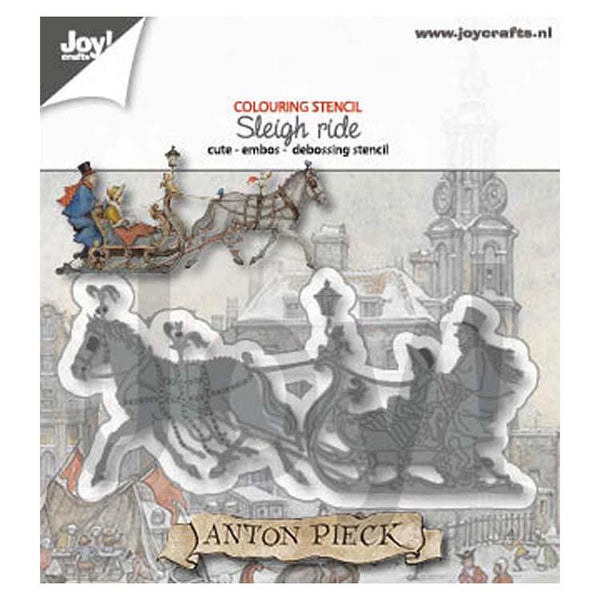 Joy! Craft Die - Anton Pieck Sleigh Ride