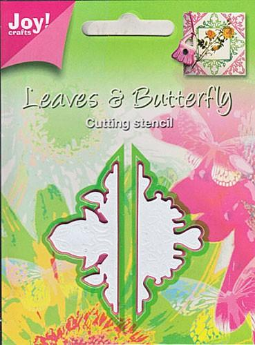 Joy! Crafts Dies - Leaves & Butterfly - 2pc