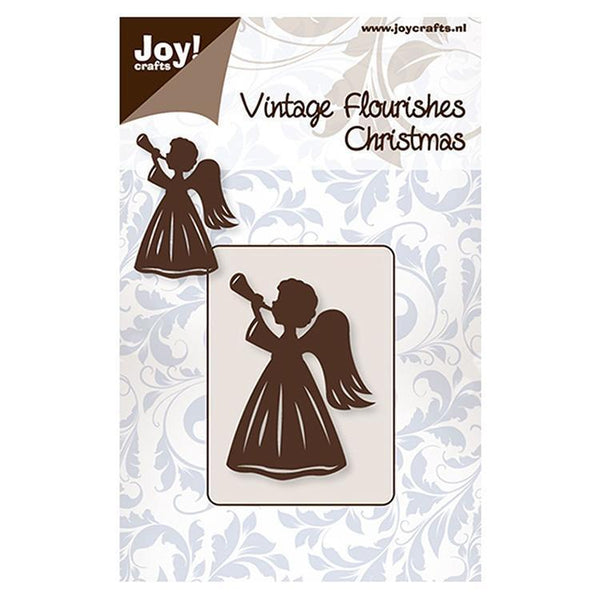 Vintage Flourishes - Angel with trumpet