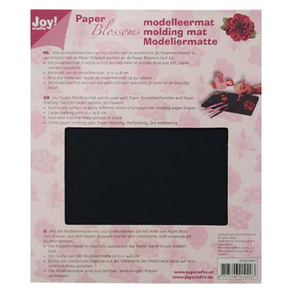 Joy! Crafts A5 Flower Shaping Embossing and Perforating Mat