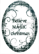 Stamp - Believe in the Magic Christmas