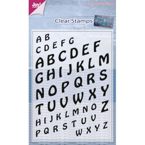 Clear Stamp - Mery 's Alphabet