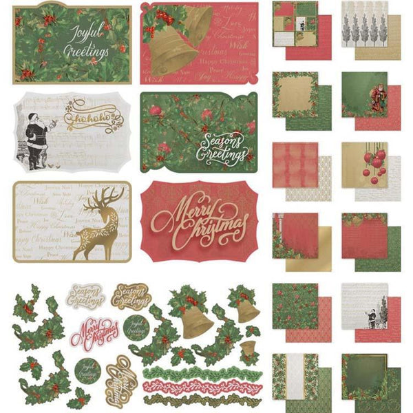 Couture Creations Naughty or Nice 12 x 12 Collection Pack (12 Papers, Sticker Sheet and 6 Postcards)