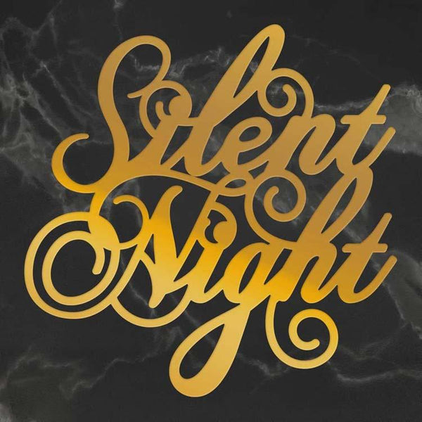 Couture Creations Silent Night Sentiment Hotfoil Stamp