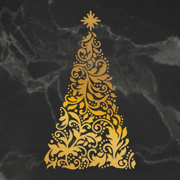 Couture Creations Ornate Christmas Tree Cut, Foil and Emboss Die