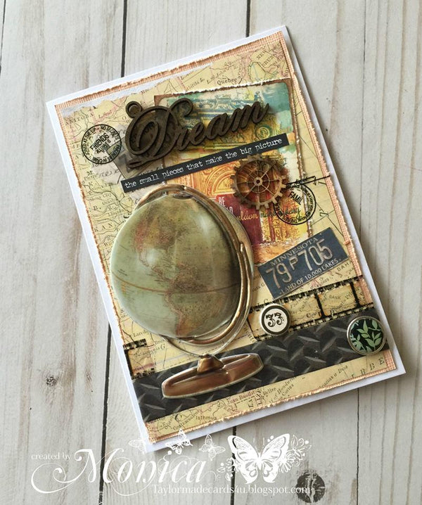 Architextures Treasures - Vintage Globe