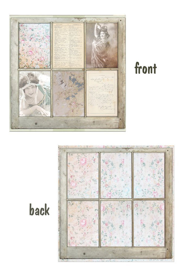 Architextures 12 x 12 Card Stock - Old Window