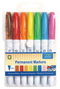 Permanent Markers 7 Colours