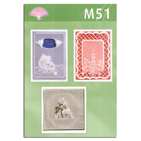 Pergamano Pattern Booklet M51 Easy Christmas