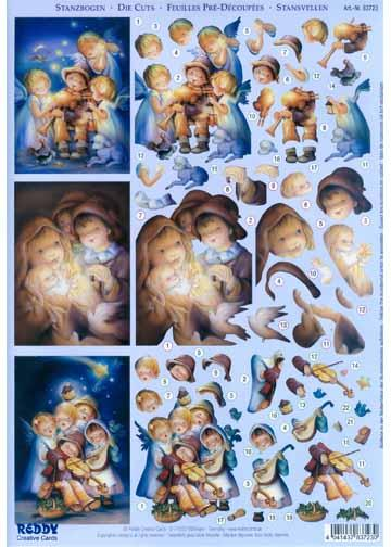 3D Precut Christmas - Children