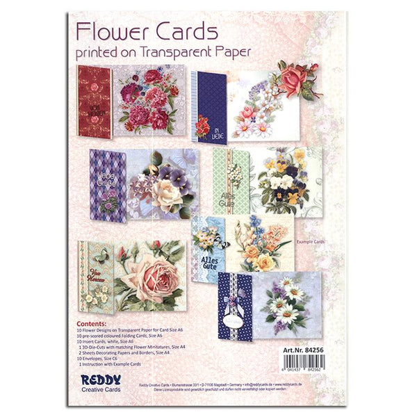 Flowers with Transparent Papers Kit