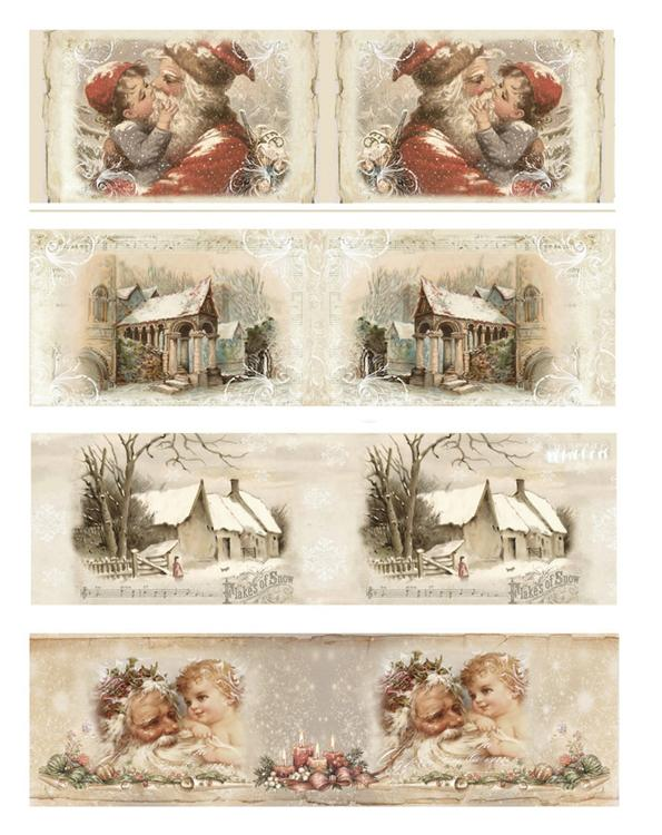 Reddy Shrink Sleeves Nostalgic Christmas 2.5""