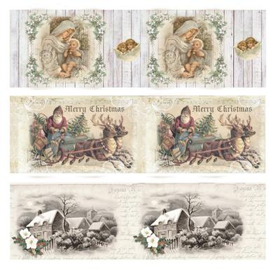 Reddy Shrink Sleeves Nostalgic Christmas 3.35""