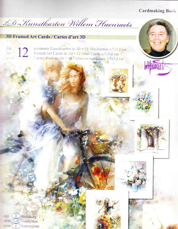 3D Precut Cardmaking Book Kit - Framed Art Cards