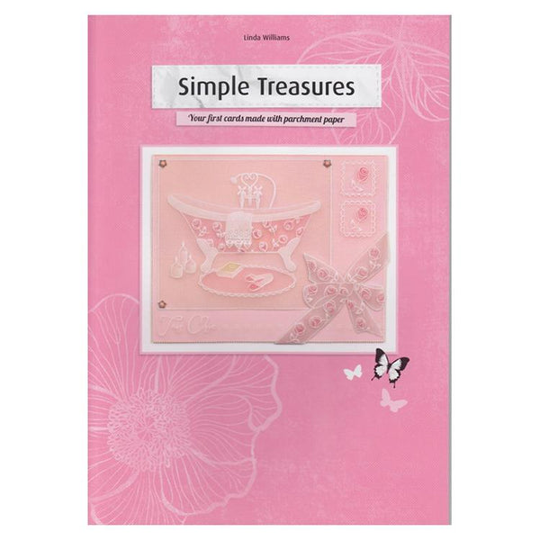 Pergamano Book Simple Treasures by Linda Williams