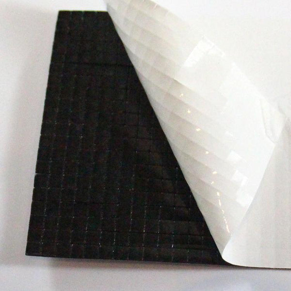 400 Black 3D Foam Pads - 5mm square (1mm thick)