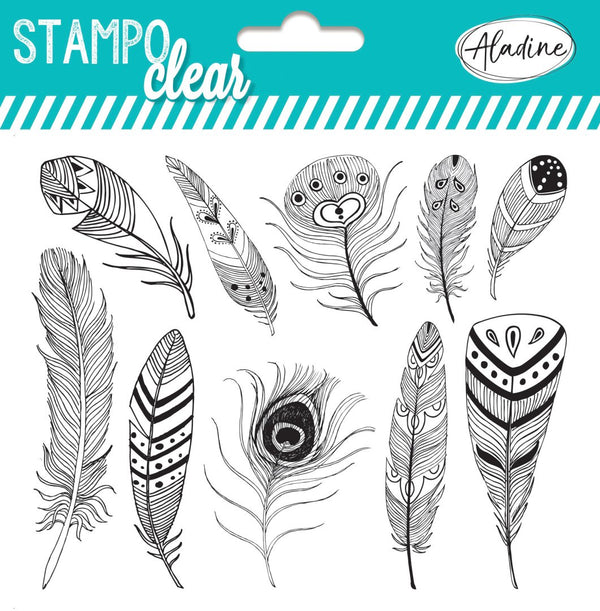 Stampo Feathers Clear Stamp