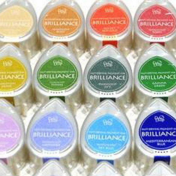 Tsukineko Brilliance Dew Drops Pigment Ink Pad