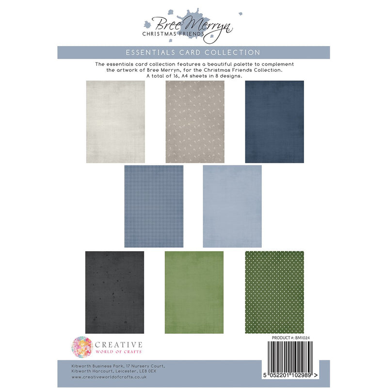 Bree Merryn Christmas Friends - Essentials Colour Card