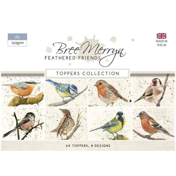 Feathered Friends - A6 Toppers