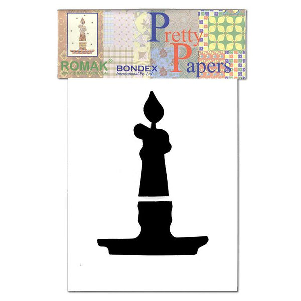 Pretty Papers Precut Cards for Paper Folding Candle