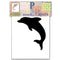 Pretty Papers Precut Cards for Paper Folding Dolphin