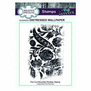 Creative Expressions Pre Cut Rubber Stamp by Andy Skinner Distressed Wallpaper