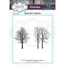 Andy Skinner Winter Trees Rubber Stamp Set of 2