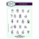 Creative Expressions Secret Residents A5 Clear Stamp Set