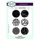 Creative Expressions A5 Artist Trading Clear Stamp Set Inverted Circle