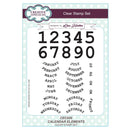 Creative Expressions A5 Artist Trading Clear Stamp Set Calendar Elements