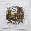 Festive Greetings A5 Clear Stamp Set