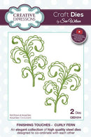 Finishing Touches Collection Curly Fern Die
